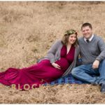 woodsy maternity session, winter maternity session, burgundy maternity session, formal maternity session, outdoor maternity session, floral crown, Artemisia Studios, Hair on Earth, AgneshkaMaternity, burgundy maternity gown, long maternity gown, winter maternity gown, Christmas maternity session, maternity portraits, Saint Paul maternity photographer, Minnesota maternity session, Hansen Tree Farm, Block Studios