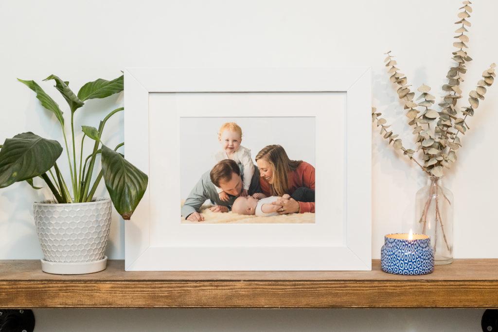 Sample art, Family portrait art, Griffen Family, Block Portrait Studios